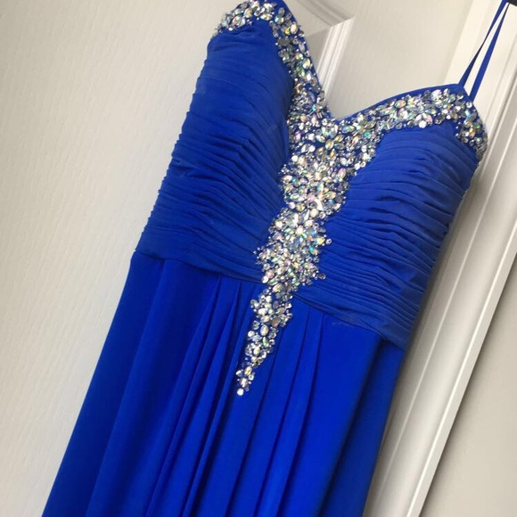 Group USA Prom Dresses Dresses & Skirts | Blue Prom Dress From Group ...
